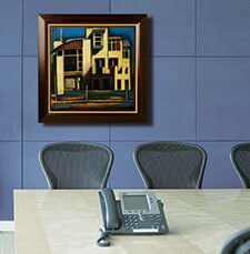 Commercial art framing Dallas